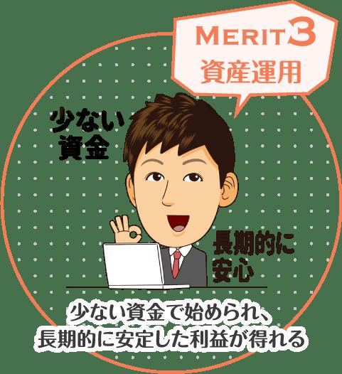 merit3 資産運用